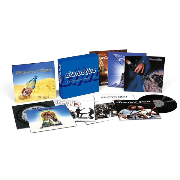 цена на Status Quo Status Quo - The Vinyl Collection Vol.2 1981-1996 (12 LP)