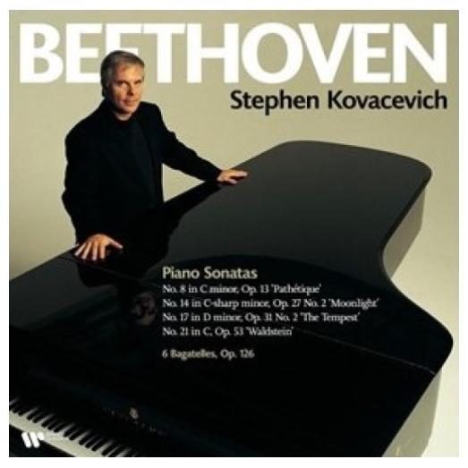 Beethoven BeethovenStephen Kovacevich - : Piano Sonatas Nos. 8, 14, 17 21, Bagatelles Op. 126 (2 Lp, 180 Gr)