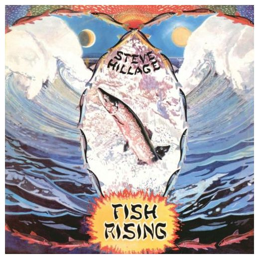 Steve Hillage Steve Hillage - Fish Rising red rising
