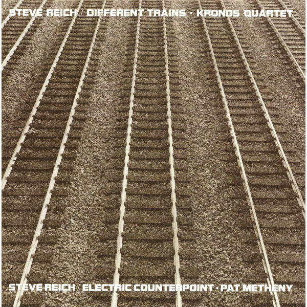 Steve Reich Steve Reich - Different Trains / Electric Counterpoint classical simulation electric trains track set children s toys with light