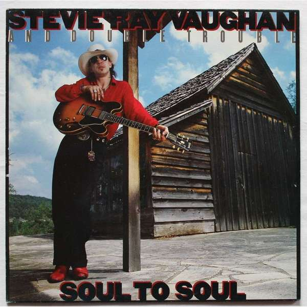 Stevie Ray Vaughan Stevie Ray Vaughan - Soul To Soul studio 189 pубашка