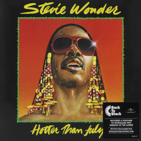 Stevie Wonder Stevie Wonder - Hotter Than July stevie wonder live at last blu ray