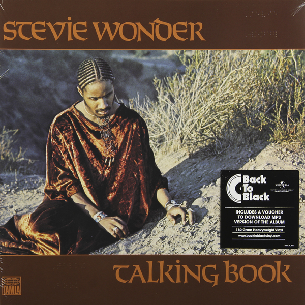 Stevie Wonder Stevie Wonder - Talking Book (180 Gr) stevie wonder live at last blu ray