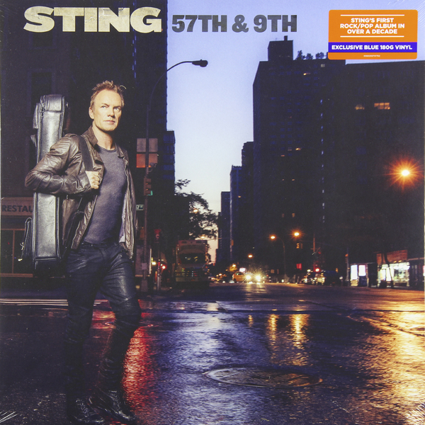 STING STING - 57th 9th (180 Gr, Color) new original sgdv 1r6a01b sgmjv 02ade6s 200v 200w 0 2kw servo system