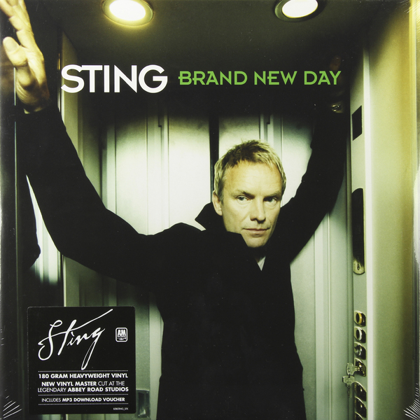 STING STING - Brand New Day (2 LP) modern luxury brand new 100