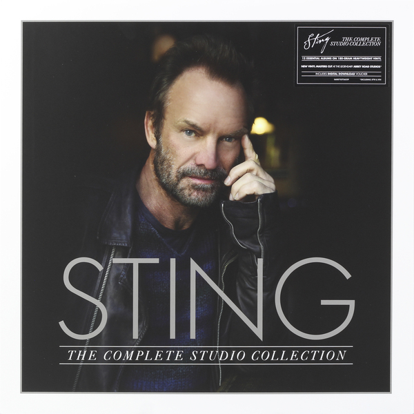 STING STING - The Complete Studio Collection (16 LP) sting sting the complete studio collection 16 lp