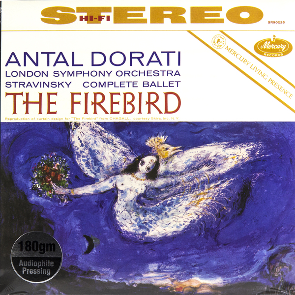 Stravinsky - The Firebird (180 Gr)
