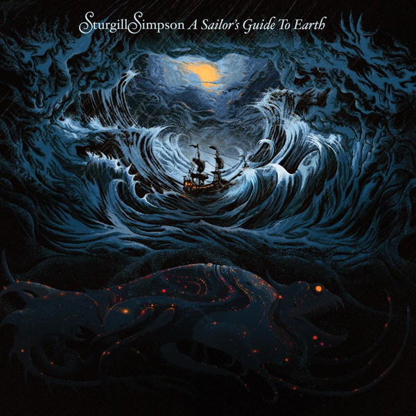 Sturgill Simpson Sturgill Simpson - A Sailor's Guide To Earth (lp+cd) isaac asimov s guide to earth and space