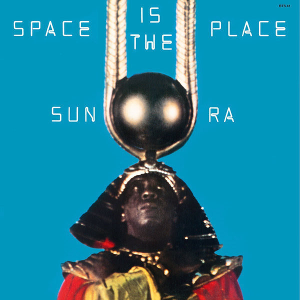 Sun Ra Sun Ra - Space Is The Place black hooded design letter pattern long sleeves cropped sweatshirts