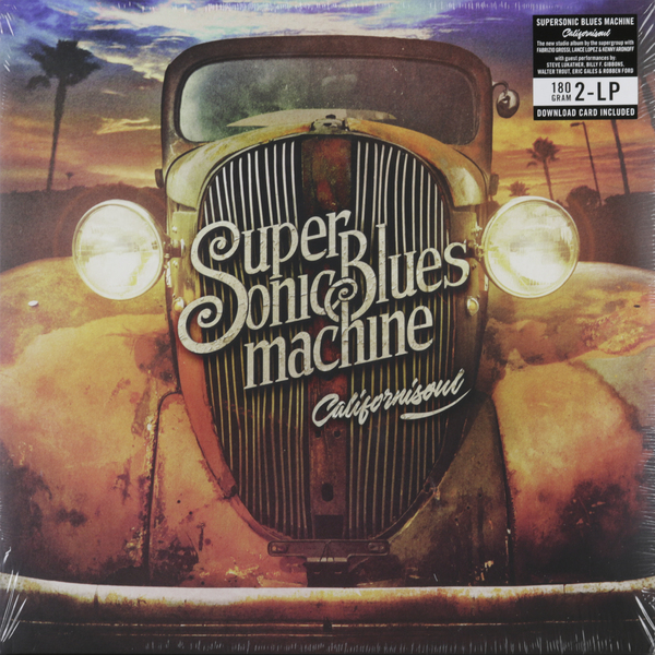 Supersonic Blues Machine Supersonic Blues Machine - Californisoul (2 LP) 35l meat salting marinated machine chinese salter machine hamburger shop fast pickling machine with timer