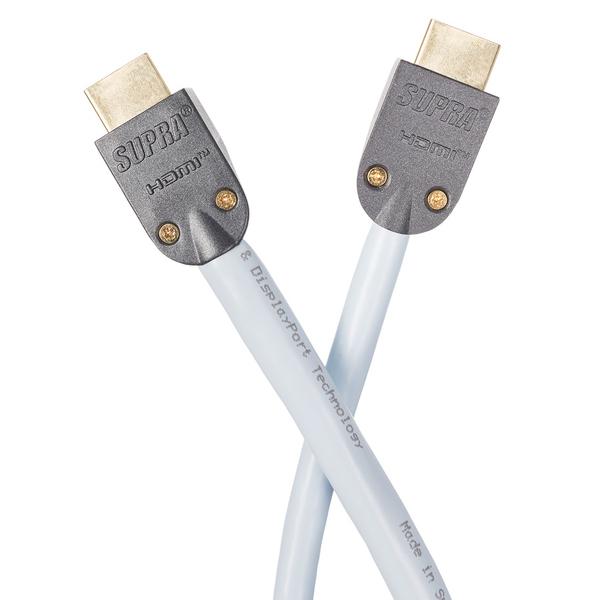 Фото - Кабель HDMI Supra HD A/V 5 m корректирующая лента brauberg design one 5 мм 6 м черный корпус