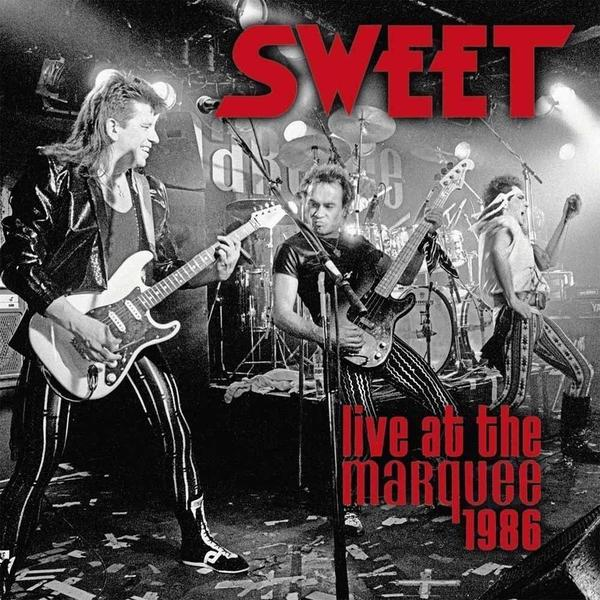 SWEET SWEET - Live At The Marquee 1986 (2 LP) the sweet münchen