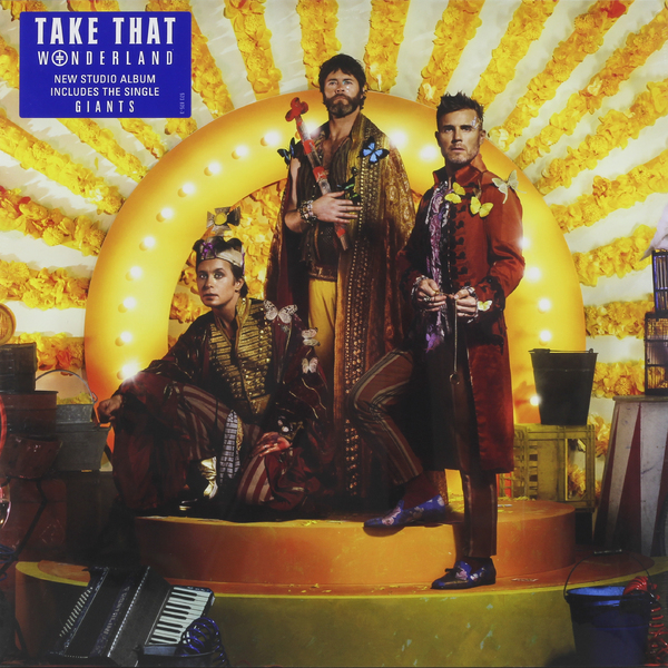 Take That Take That - Wonderland take that take that progress live 2 cd