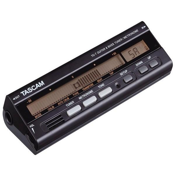 Гитарный тюнер TASCAM TG-7 tascam tc 8