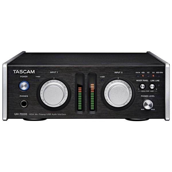Внешняя студийная звуковая карта TASCAM UH-7000 профессиональный рекордер tascam md cd1 mkiii