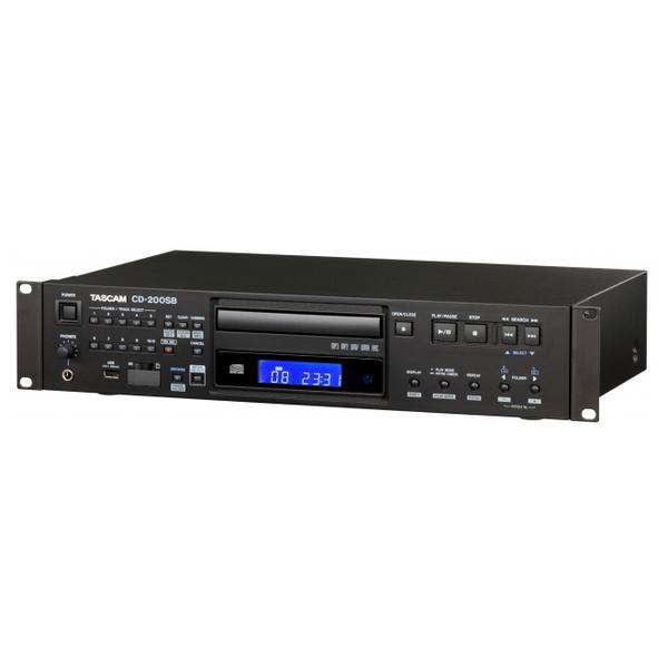 Профессиональный проигрыватель TASCAM CD-200SB tascam cd 200il