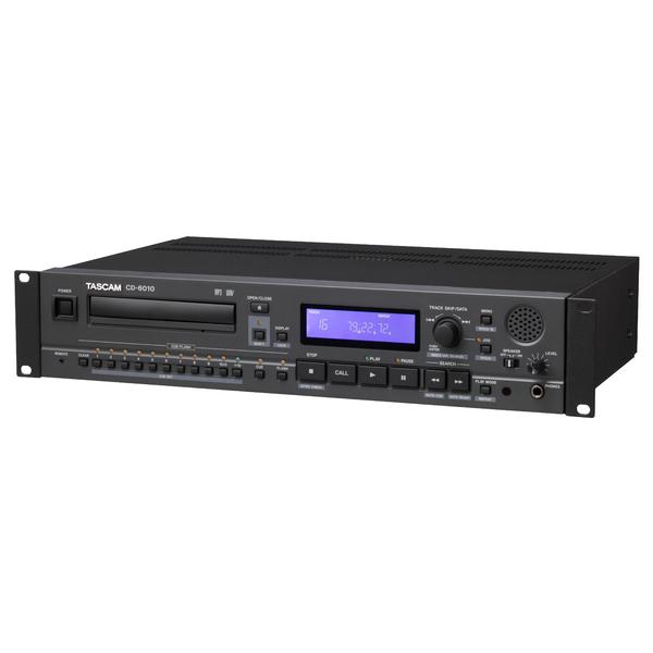 Профессиональный проигрыватель TASCAM CD-6010 cd проигрыватель tascam cd 200bt