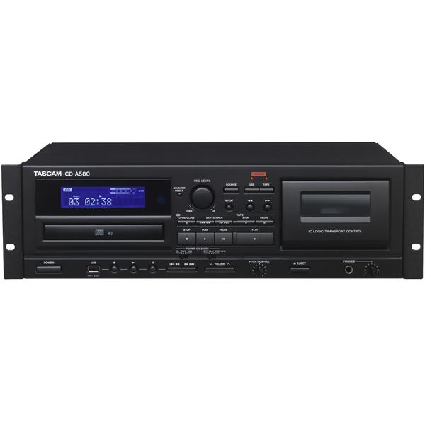Профессиональный проигрыватель TASCAM CD-A580 cd проигрыватель tascam cd 200bt