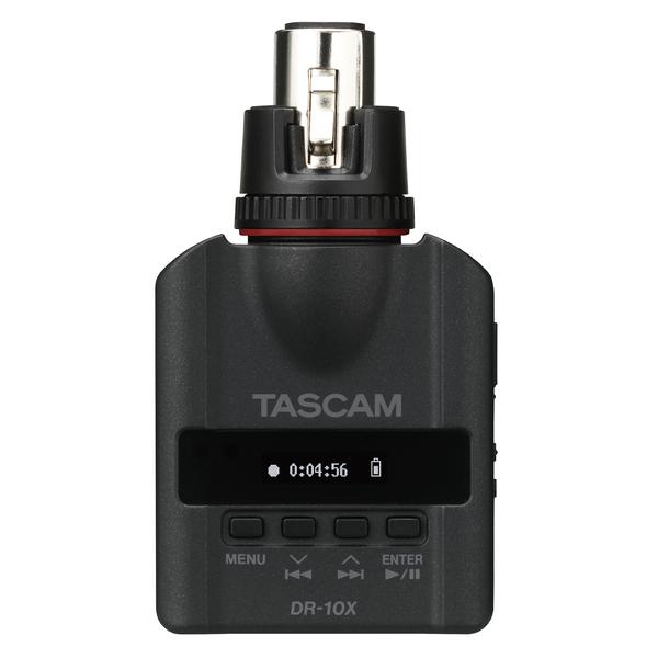 Портативный рекордер TASCAM DR-10X портативный рекордер tascam dr 44wl