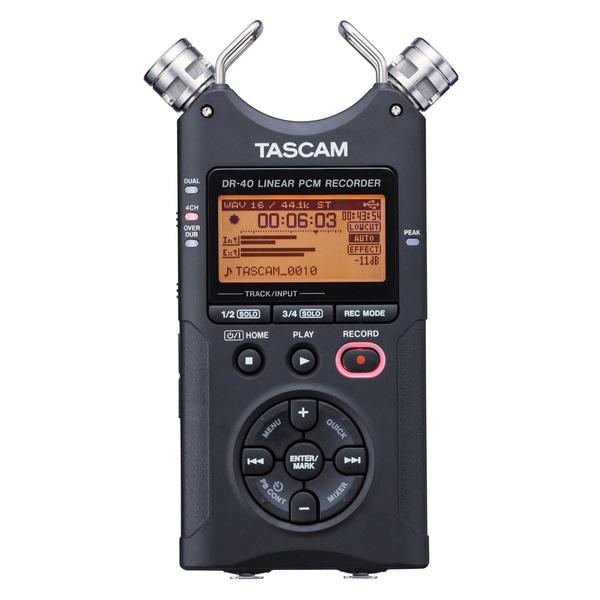 Портативный рекордер TASCAM DR-40 tascam dr 22wl