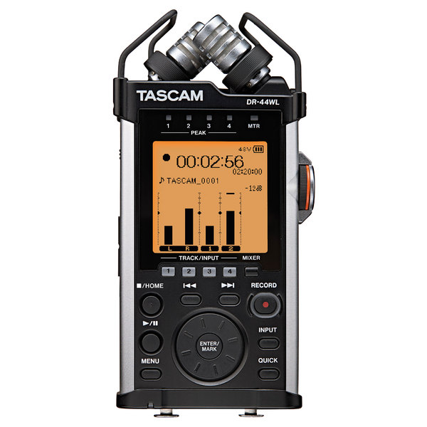 Портативный рекордер TASCAM DR-44WL tascam dr 05v2 a051766 цифровой диктофон black