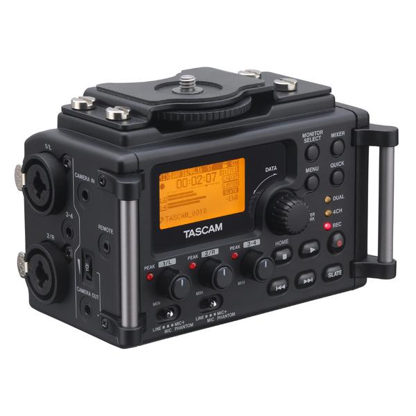 Портативный рекордер TASCAM DR-60D портативный рекордер tascam dr 44wl