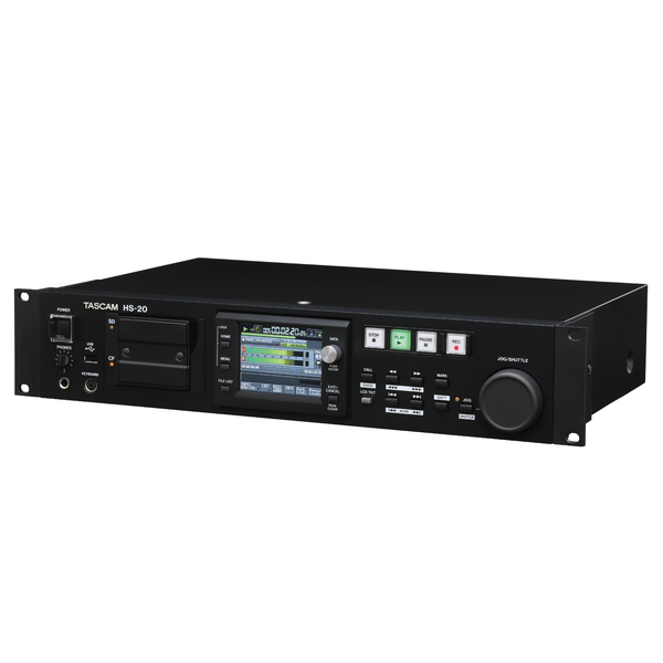 Профессиональный рекордер TASCAM HS-20 профессиональный проигрыватель tascam cd 200sb