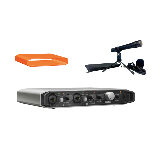 Внешняя студийная звуковая карта TASCAM iXR TRACKPACK микрофон tascam tm 80 black