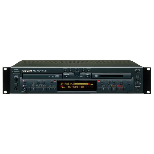 Профессиональный рекордер TASCAM MD-CD1 MKIII профессиональный проигрыватель tascam cd 200sb