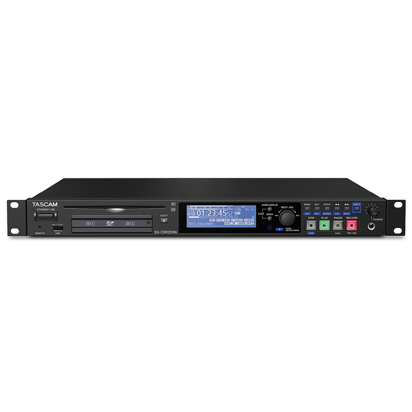 Профессиональный рекордер TASCAM SS-CDR250N цена