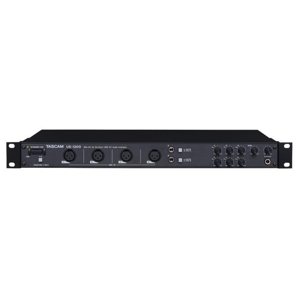 Внешняя студийная звуковая карта TASCAM US-1200 профессиональный рекордер tascam md cd1 mkiii
