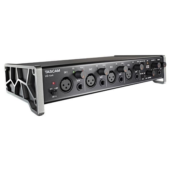 Внешняя студийная звуковая карта Tascam US-4x4