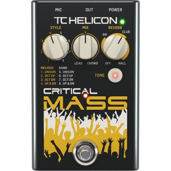 Вокальный процессор TC-Helicon Critical Mass