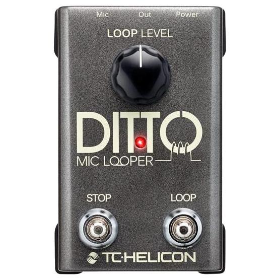 Педаль эффектов TC-Helicon Ditto Mic Looper