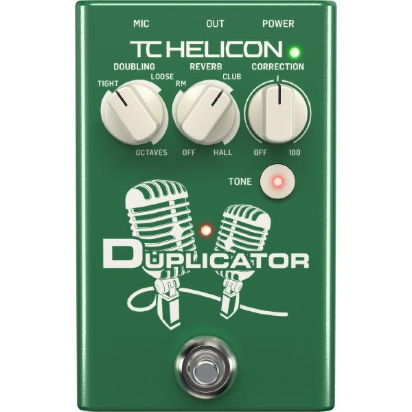 Вокальный процессор TC-Helicon Duplicator