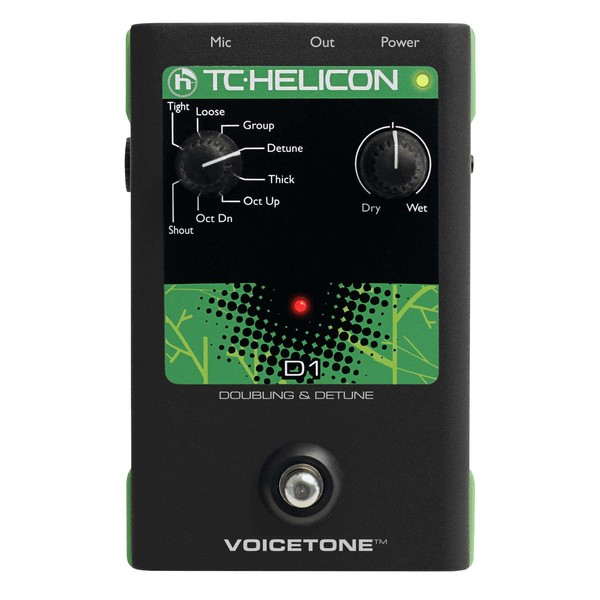 Вокальный процессор TC-Helicon VoiceTone D1