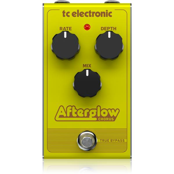 mooer reverie chorus twin series two channel stereo 5 modes digital chorus pedal with true bypass Педаль эффектов TC Electronic Afterglow Chorus
