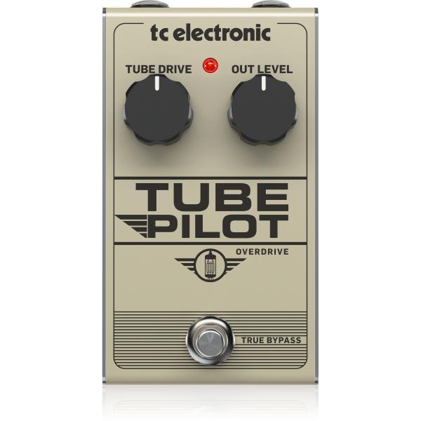 Педаль эффектов TC Electronic Tube Pilot Overdrive педаль эффектов ibanez tube screamer ts9