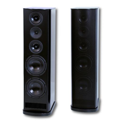Напольная акустика T+A TCD 110 S Macassar Ebony акустика центрального канала piega classic center large macassar high gloss