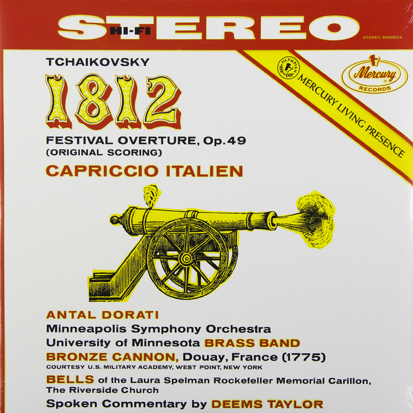 Tchaikovsky Tchaikovsky - 1812 Overture Capriccio Italien недорого