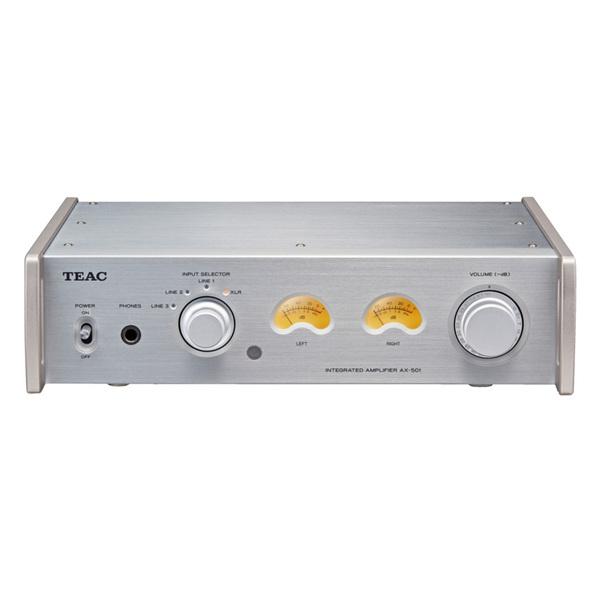 Стереоусилитель TEAC AX-501 Silver усилитель мощности 850 2000 вт 4 ом behringer europower ep4000
