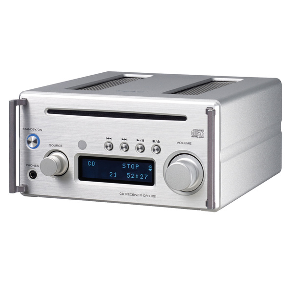 CD ресивер TEAC CR-H101 Silver cd ресивер onkyo cr n765 silver