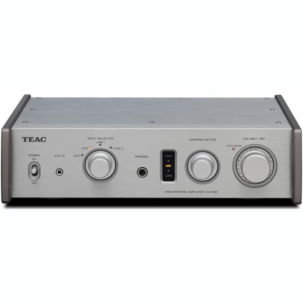 Усилитель для наушников TEAC HA-501 Silver teac ax 501 silver
