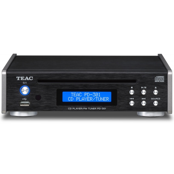 CD проигрыватель TEAC PD-301 Black teac pd 301 silver
