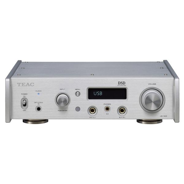 Внешний ЦАП TEAC UD-505 Silver внешний цап teac ud 503 silver