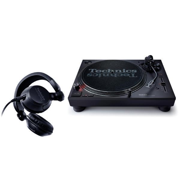 DJ виниловый проигрыватель Technics SL-1210 MK7-EE Black + EAH-DJ1200EK