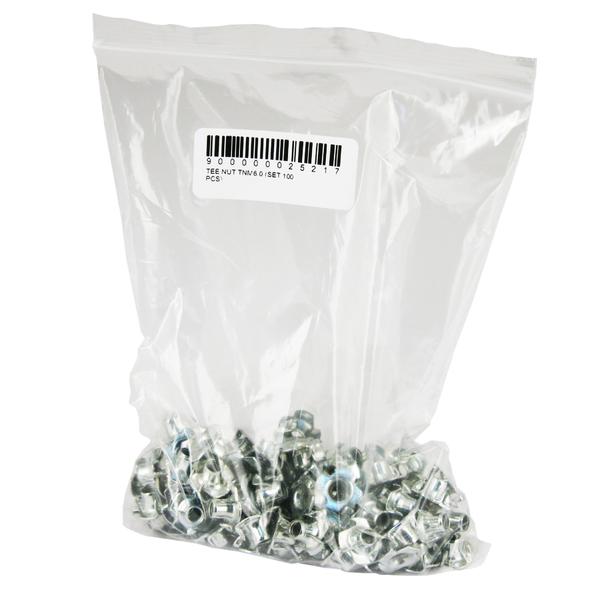 Гайка Tee Nut TNM6.0 (комплект 100 шт.) square neck crop tee