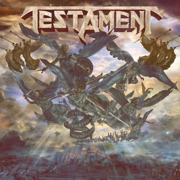 Testament Testament - Formation Of Damnation new rotation solenoid valve kwe5k 31 g24ya50 for excavator sk200 6e