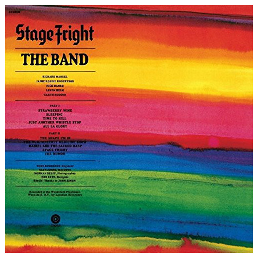 The Band The Band - Stage Fright the band the band islands