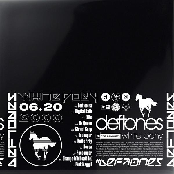 Deftones DeftonesThe - White Pony Black Stallion (20th Anniversary) (limited, Box Set, 4 Lp + Litho)